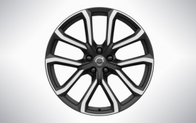 20″ 5-Double Spoke Matt Tech Black Diamond Cut