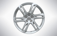 18″ 6-Double Spoke Sparkling Silver