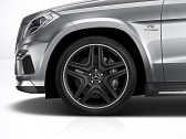 AMG 5-double spoke black 21""