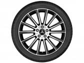 "AMG multispoke 22"" black"
