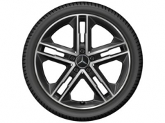 "5 double spoke 19"" black"
