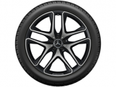 "AMG 5 double spoke 21"" black"