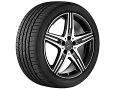 AMG star spoke black R20