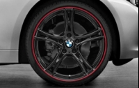 "20"" Double Spoke 361 Black"
